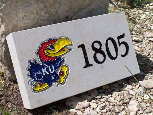 jayhawk address stone