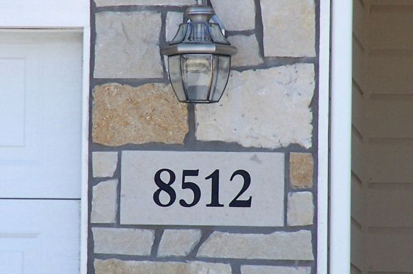 address stone insert