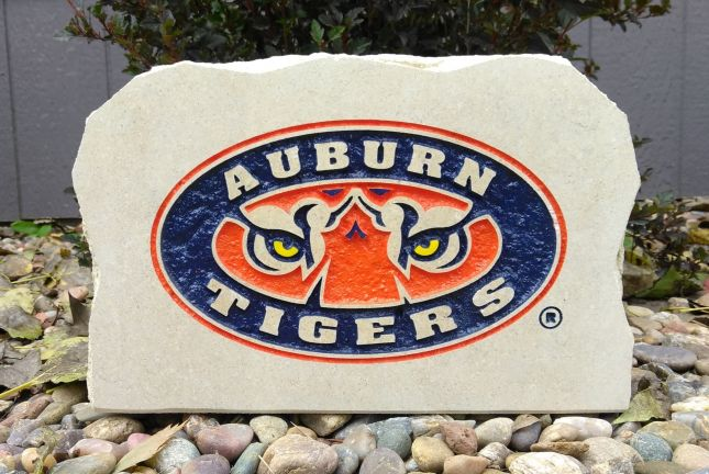 11x8in auburn university tiger porch sign
