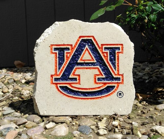 7in auburn university au desk stone