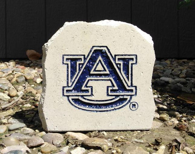 auburn university au desk stone