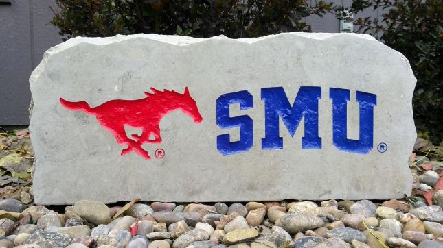 17in southern methodist university smu porch sign