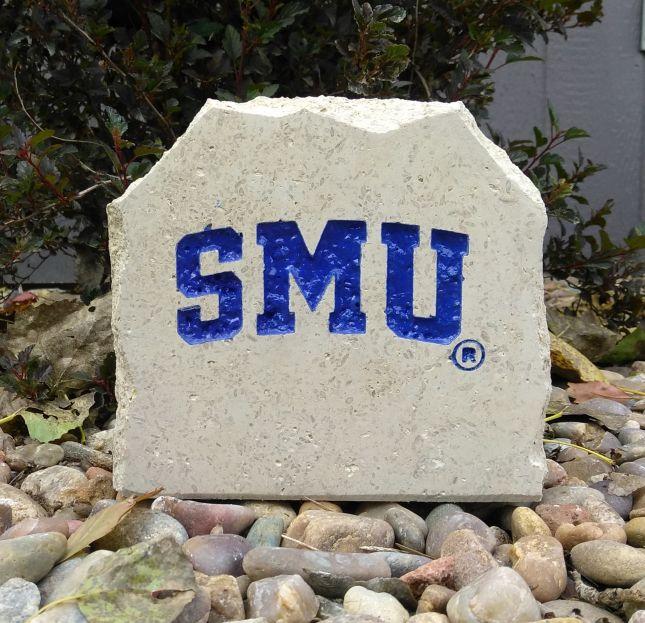 southern methodist university smu desk stone