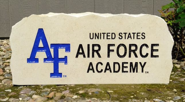 17 inch us air force academy porch stone