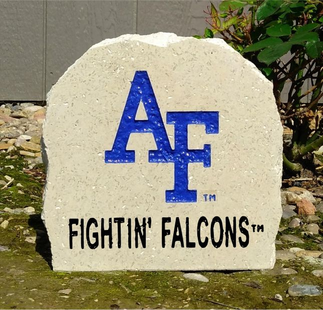7 us air force academy fightin falcons desk stone