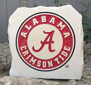 11in university of alabama porch stone