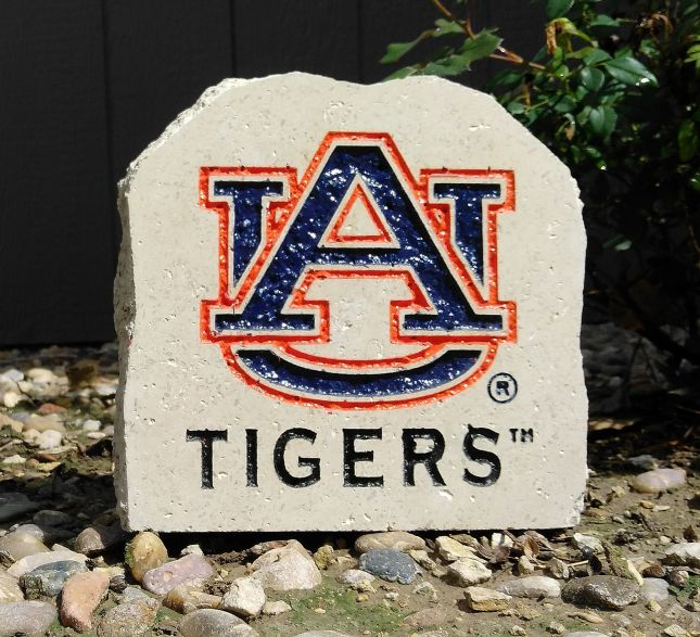 7in auburn university au tigers desk stone