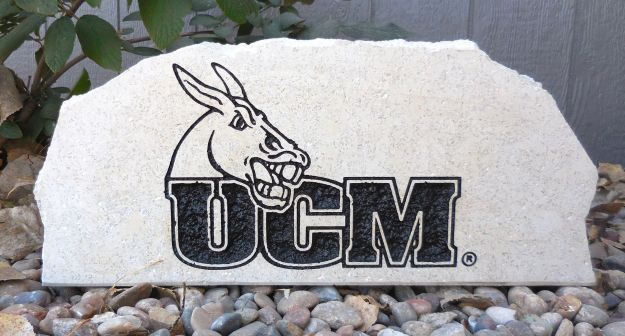 ucm engraved porch stone