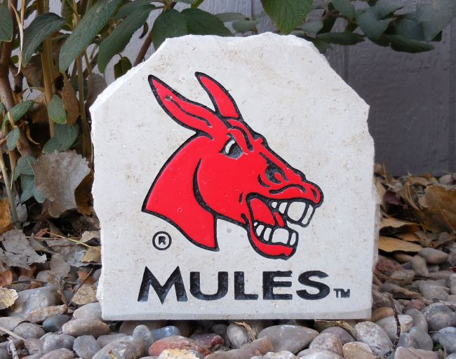ucm mules engraved small stone