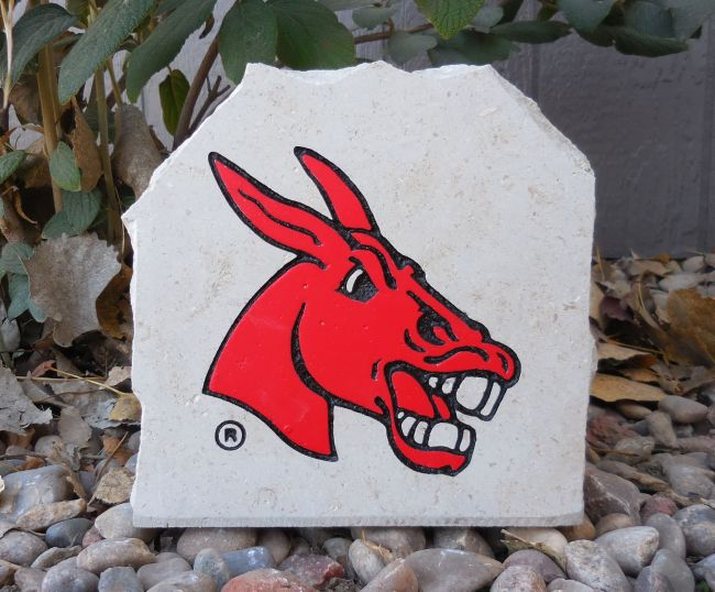 ucm mules engraved stone small