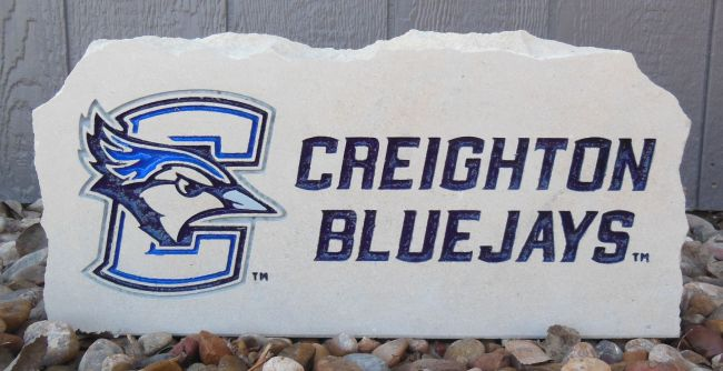 creighton bluejays porch stone