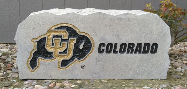 17in cu buffalo colorado porch sign
