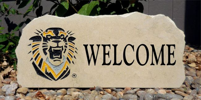 fort hays welcome stone
