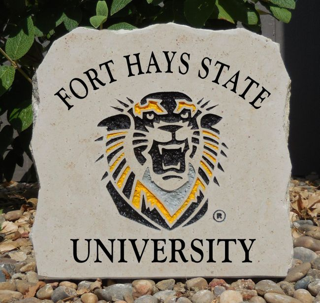 fort hays porch stone