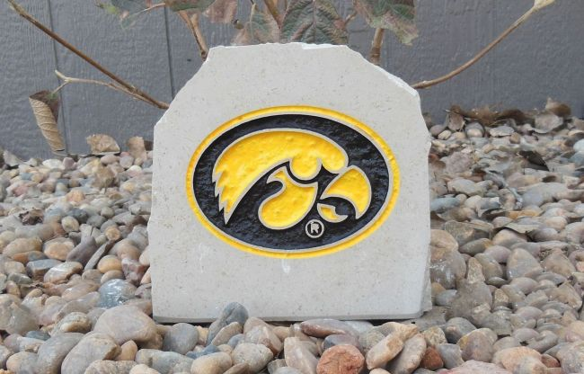 7in hawkeyes desk stone