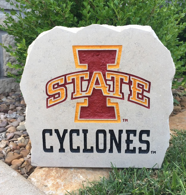 iowa state cyclone porch stone 11 inch