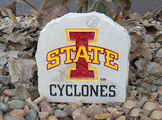 iowa state cyclones desk stone