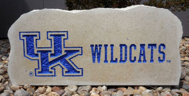 uk wildcats porch stone