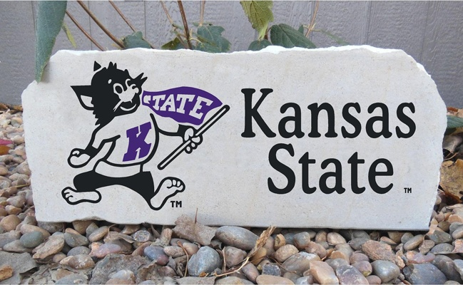 willie kansas state porch stone