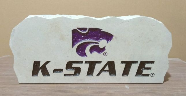powercat k-state porch stone