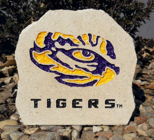 lsu tigers desk stone
