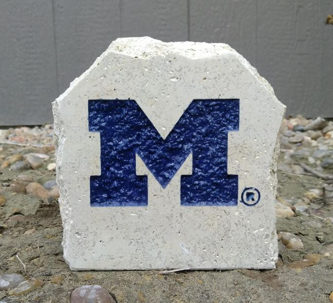 5in university of michigan desk stone