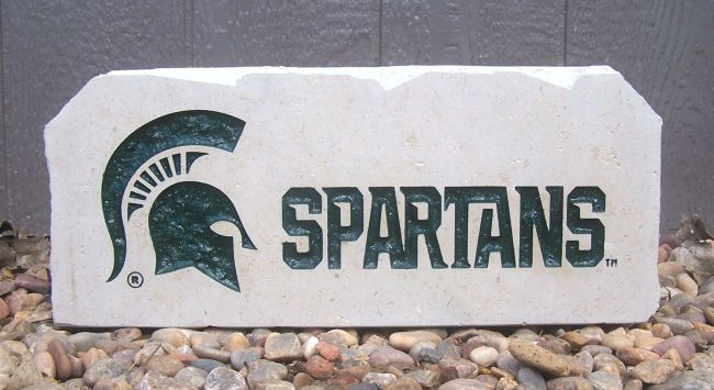 spartans porch stone