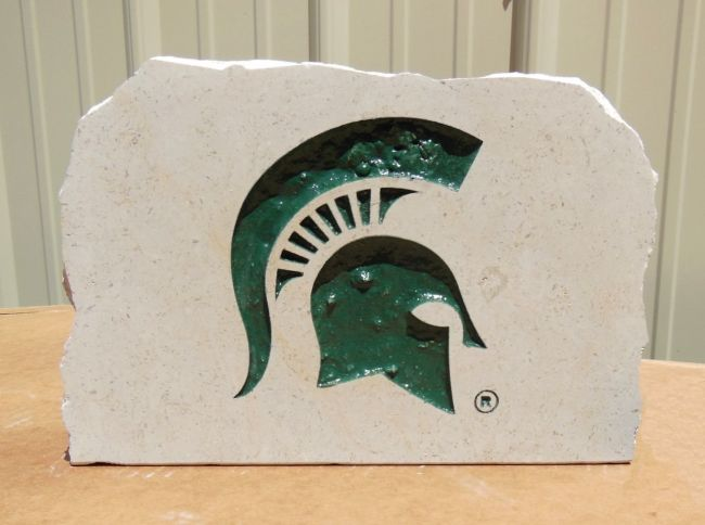 9in spartans porch stone