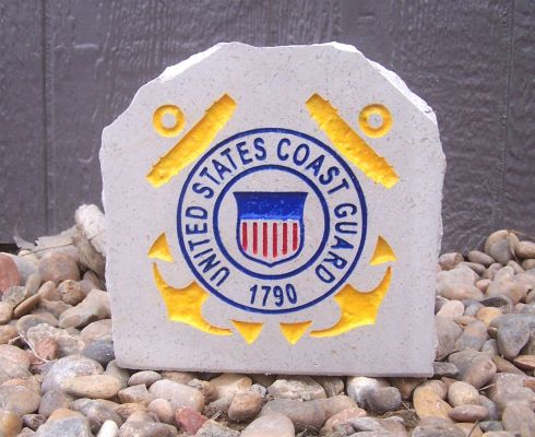 coast guard desk stone