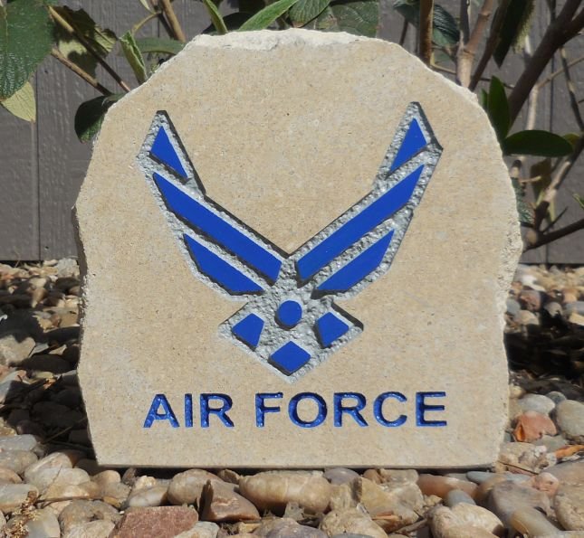 us airforce desk stone