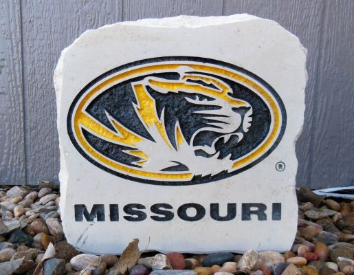 tigers oval missouri porch stone