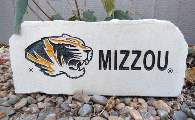 missouri tigers w mizzou porch stone