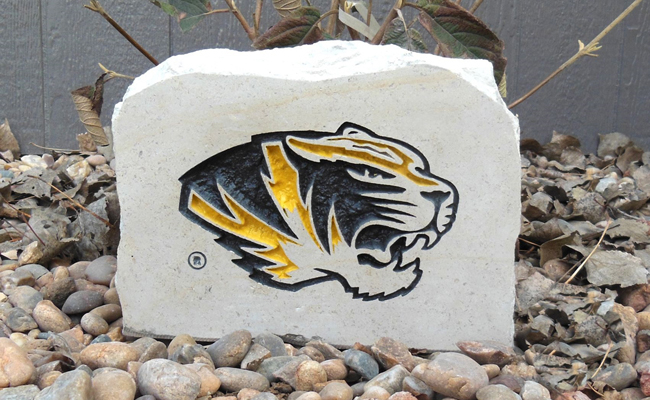 missouri tigers porch stone