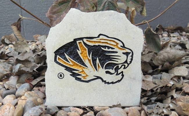 missouri tiger desk stone