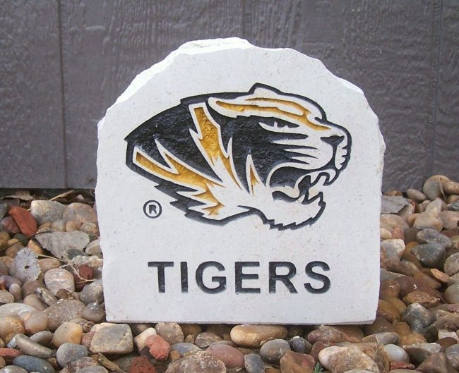 missouri tigers desk stone