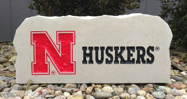 n huskers porch stone