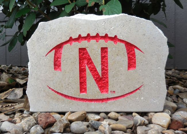 n football porch stone