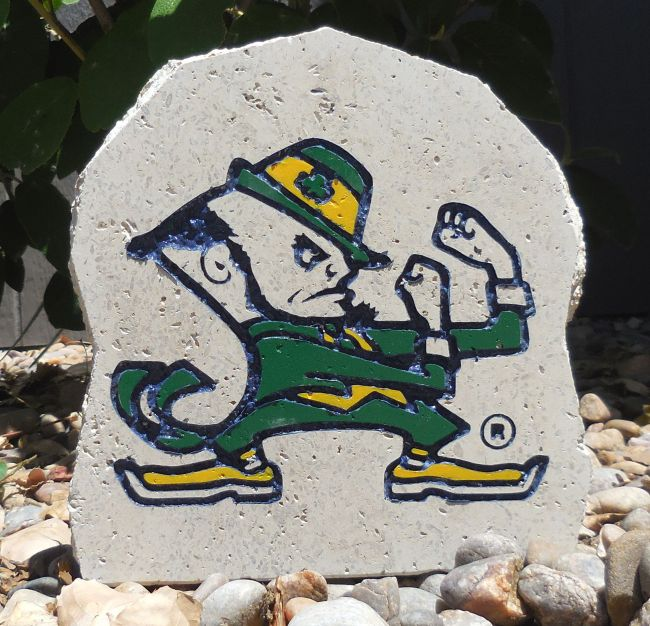 fighting irish desk stone