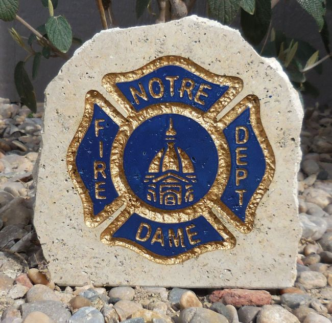 nd fire department desk stone