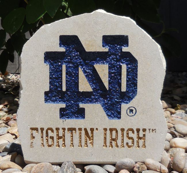 fighting irish small desk stone