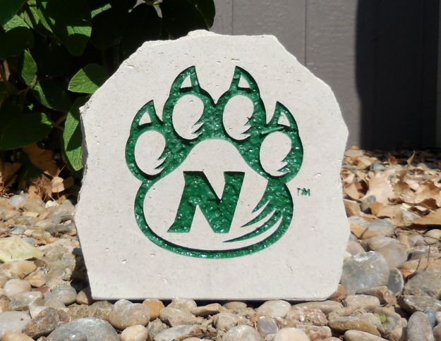 7in nwmsu paw desk stone