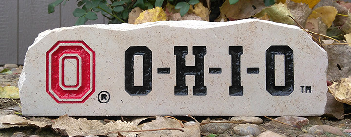 ohio state long desk stone