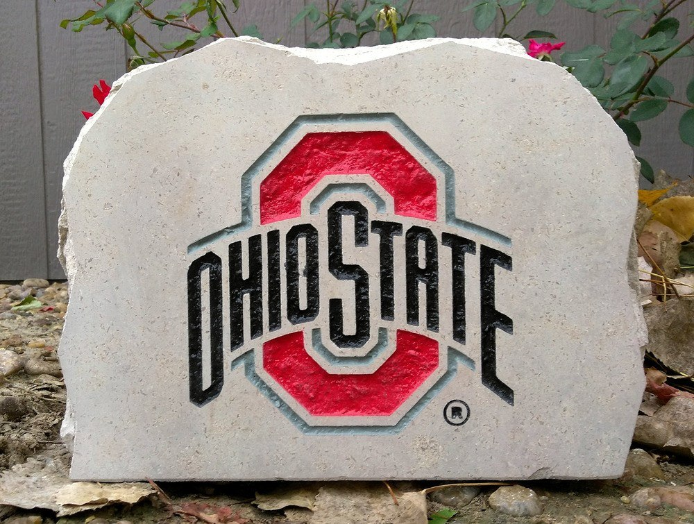 ohio state university small porch stone