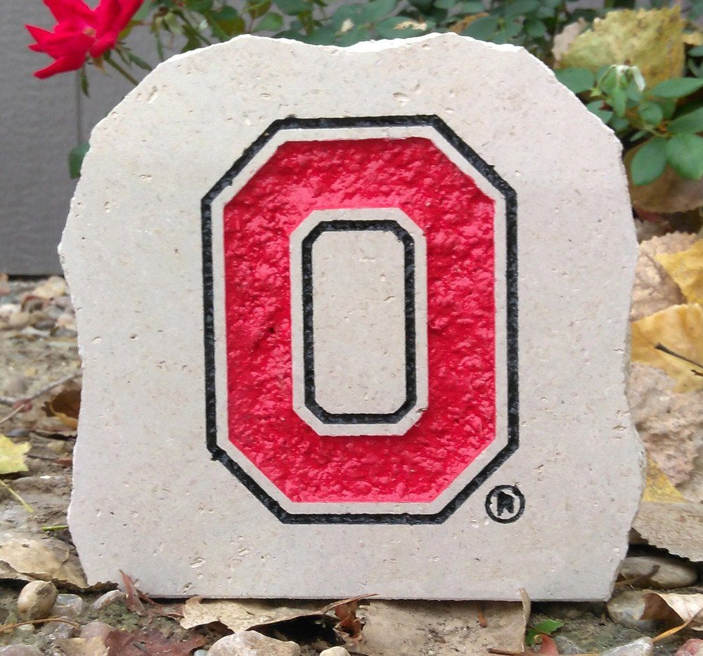 7in ohio state university desk stone