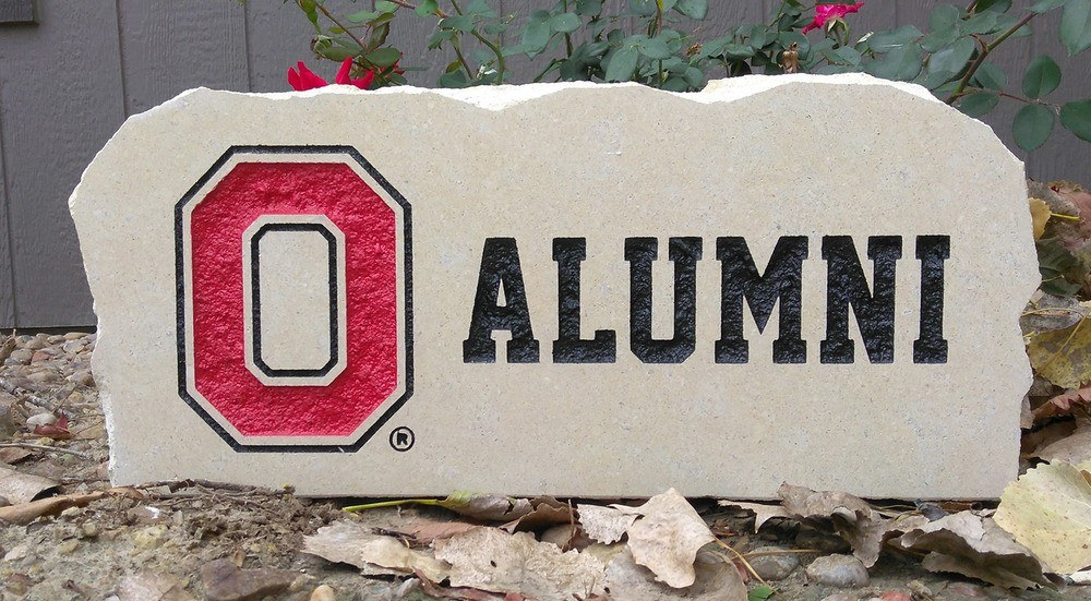 ohio state university alumni porch stone