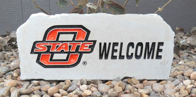 osu welcome porch stone