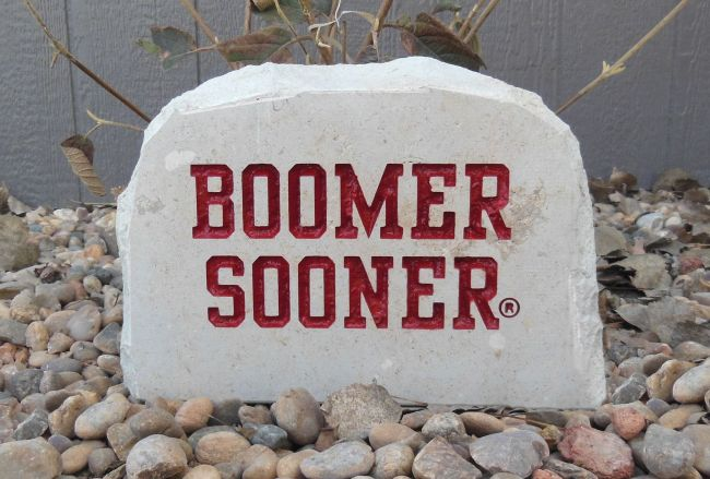 9in boomer sooner porch stone