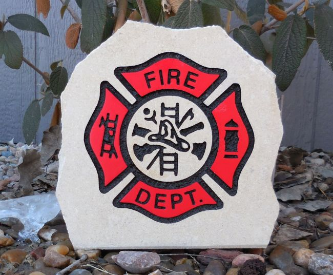 firefighter desk stone