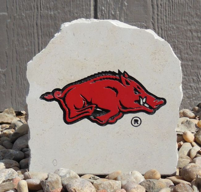 7in razorback desk stone