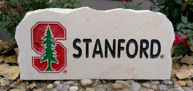 Stanford university #16 porch stone